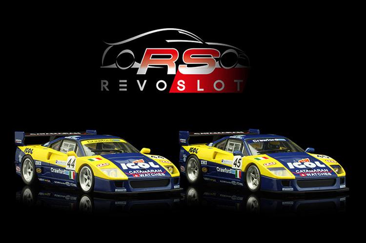 Revoslot les deux F40 Ennea Igol - 24h le Mans 1996