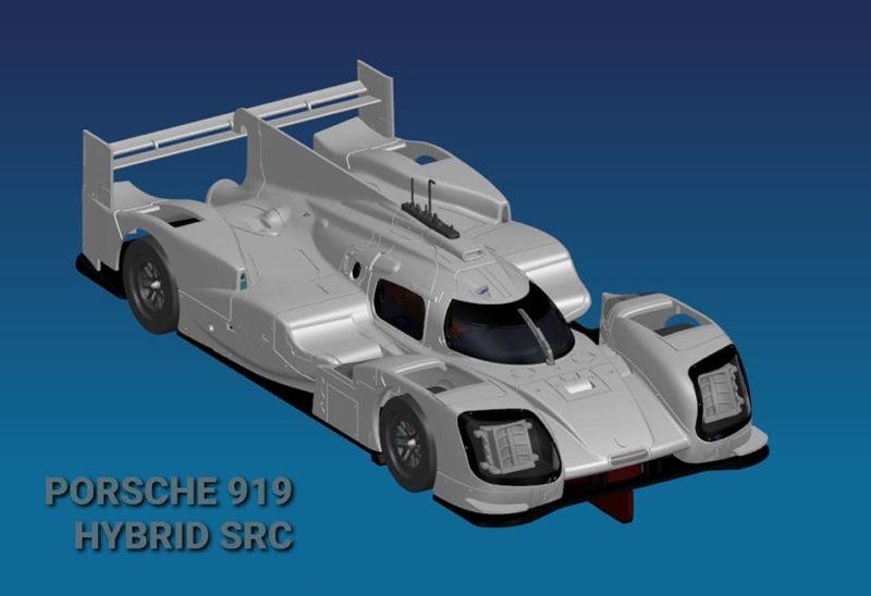 SRC La Porsche 917 Hybrid en projet