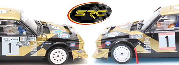 SRC Les deux Lancia Delta S4 de Tabaton en version Chrono