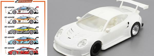 Scaleauto: La photo des premiers samples de la serie Porsche 911.2 GT3 Cup Versions