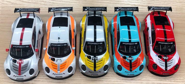 Scaleauto: La photo des premiers samples de la série Porsche 911.2 GT3 Cup Versions