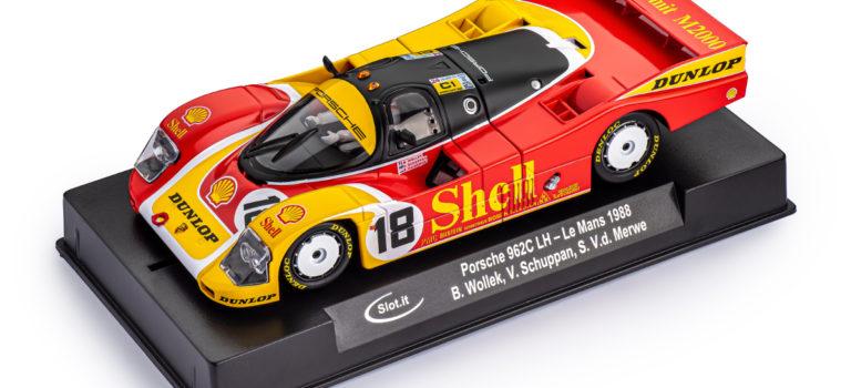 Slot.it: La Porsche 962C Shell #18 – 24h le Mans 1988 – CA03m
