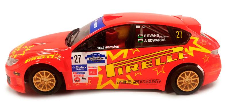 Subaru Impreza STI – Pirelli – Rallye Sunseeker International 2011