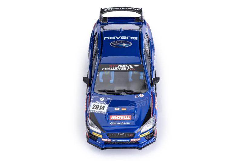 Subaru WRX STI Présentation 24 h Nurburgring 2014 (Ref. CT02a)