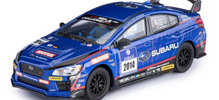 Policar: la Subaru WRX STI – 24h Nurburgring Présentation 2014 proche des pistes de slot