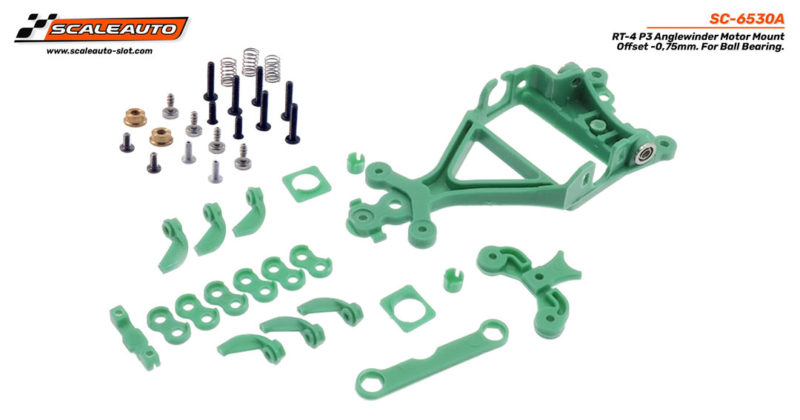 Support moteur AW RT-4 P3 Offset -0,75 mm. Rallye pour Roulements  Roulements
