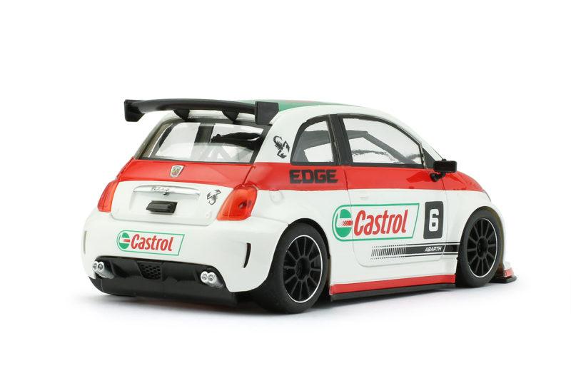 Abarth 500 Assetto Corse - CASTROL BLANC #6 - 0203sw