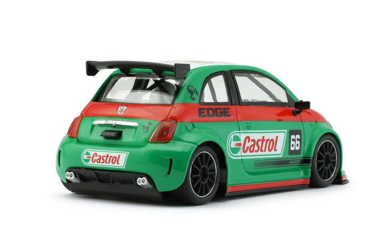 Abarth 500 Assetto Corse - CASTROL VERT #66 - 0204sw