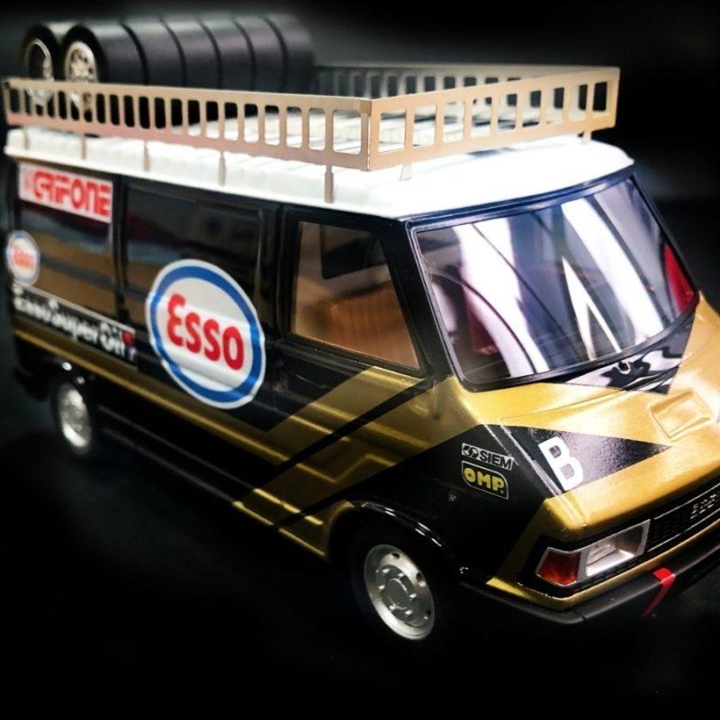 Avant Slot - Le Fiat 242 Esso Team Grifone