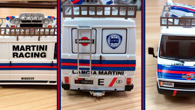 Avant Slot - Le Fiat 242 Lancia Team Martini