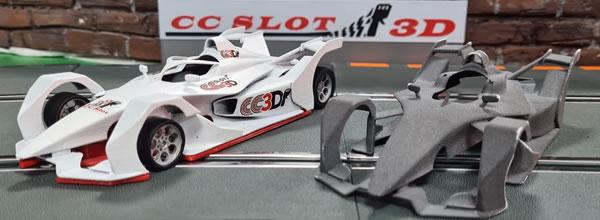 CCSlot 3D Le kit de la Formule E GEN 2 en impression 3D