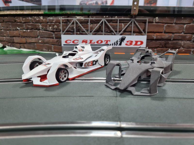 CC Slot 3D Le kit de la Formule E GEN 2 en impression 3D