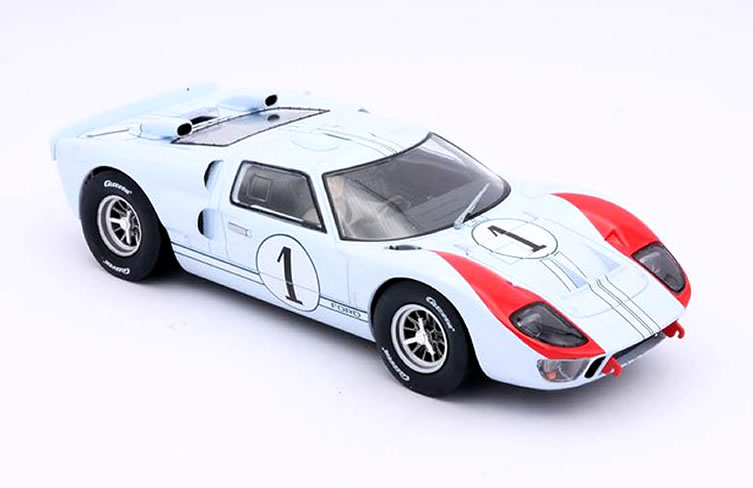 Carrera - Ford GT40 MKII Nr.1 Shelby Ken Miles Le Mans 1966 - D124 23921