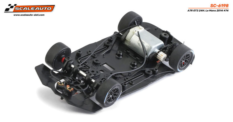 Chassis C7R Home Series Scaleauto