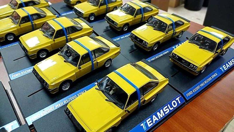 Ford Escort MKII RS2000 X-PACK jaune