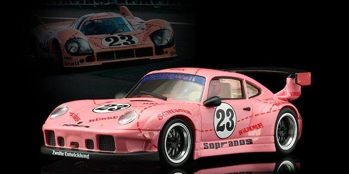 RevoSlot: la Porsche 911 GT2 #23 Pink Pig se dévoile