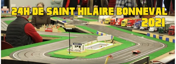 La course des 24h de Saint Hilaire Bonneval de slot racing est annoncée