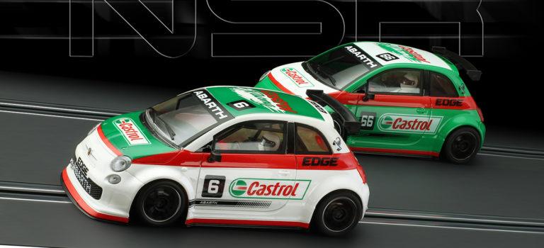 NSR: Deux 500 Abarth «Asseto Corse» Castrol en septembre.