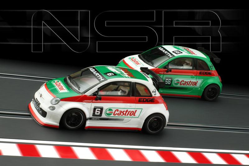 NSR Deux 500 Abarth Asseto Corse Castrol en septembre