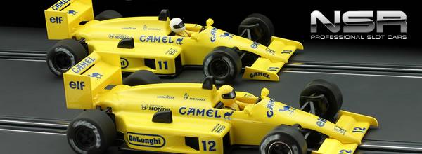 NSR Les deux F1 86/89 Camel 1987