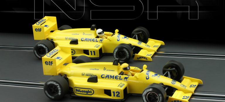 NSR: Les deux F1 86/89 Camel 1987