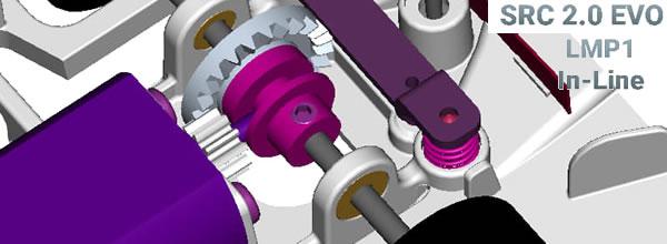 SRC - Un support moteur Inline pour la Toyota TS050