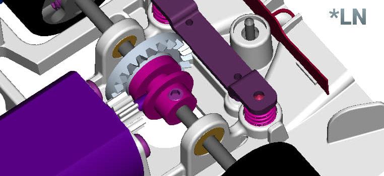 SRC: Un support moteur Inline pour la Toyota TS050