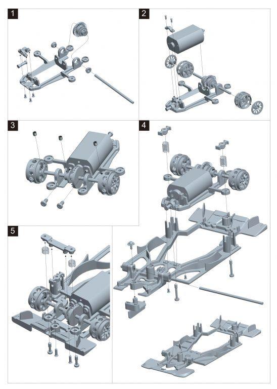 SRC  Un support moteur Inline pour la Toyota TS050