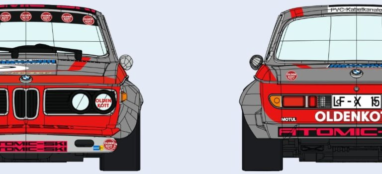 SRC: le projet de BMW Schnitzer 2.8 CS 1/32 revient