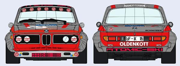 SRC: la projet de BMW Schnitzer 2.8 CS 1/32 revient