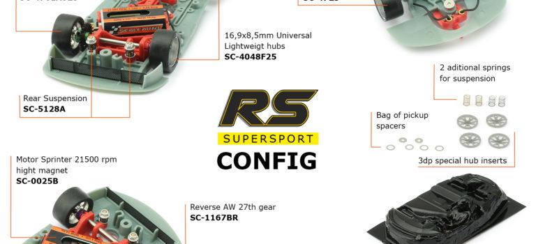 Scaleauto: les slot cars de la gamme «RS Supersport»