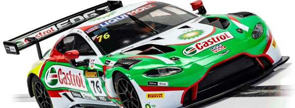 Scalextric: l'Aston Martin GT3 Vantage Castrol #76 R-Motorsport – C4218