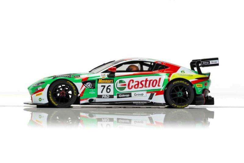 Scalextric l'Aston Martin GT3 Vantage Castrol #76 R-Motorsport – C4218