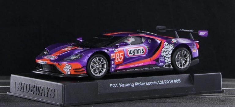 Sideways: la  Ford GT GTE Wynn's Keating Motorsports LM 2019 #85