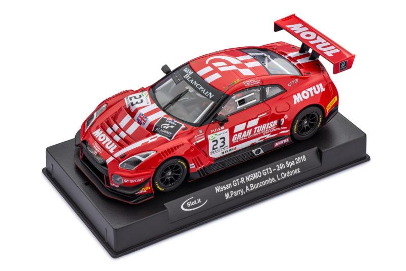 Slot.it -  Nissan GT-R Nismo GT3 - 24h de Spa 2018 - CA49a