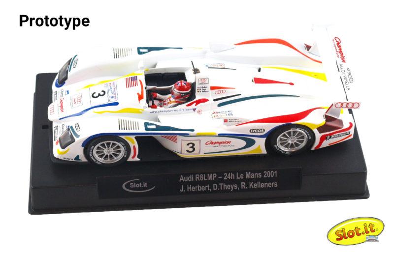 Audi R8 LMP #3 24h Le Mans 2001 Drivers J.