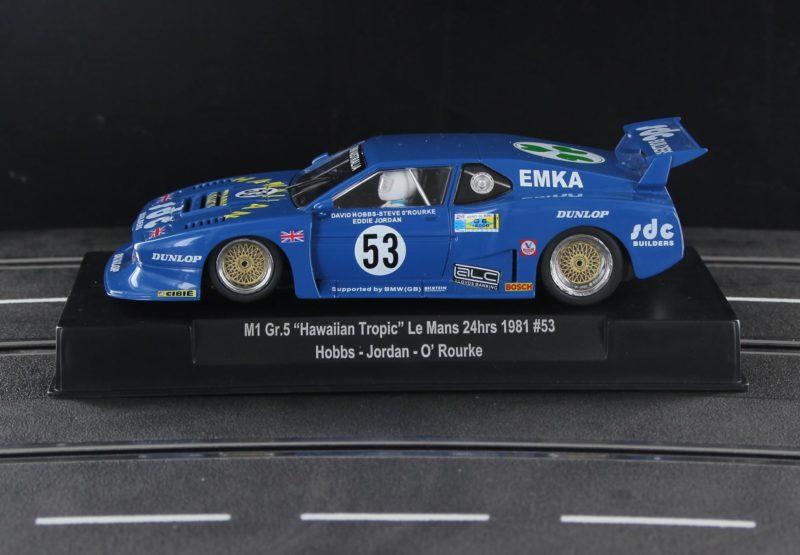 BMW M1 Gr.5 Hawaiian Tropic - '81 24 Hours of Le Mans - Hobbs - Jordan - O'Rourke -  Sideways SW75