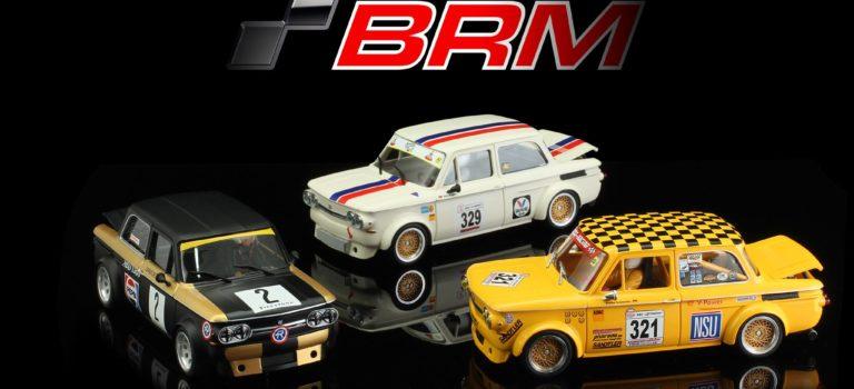 BRM: Trois nouvelles versions de la NSU TT à l'échelle 1/24