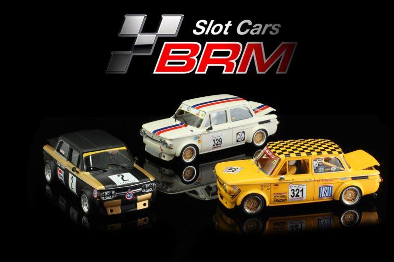 BRM Trois nouvelles versions de la NSU TT à l'échelle 124