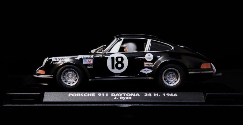 Fly Car Model  - Porsche 911 24 H Daytona 1966 J. Ryan - Ref A2502
