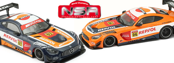 NSR: Deux Mercedes AMG Repsol arrivent bientôt sur les pistes de slot