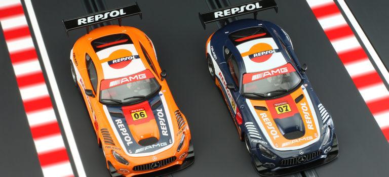 NSR: Deux Mercedes AMG GT3 Repsol