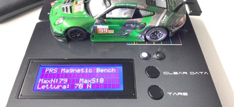 PRS Slot: un banc pour mesurer l'effet magnétique des moteurs