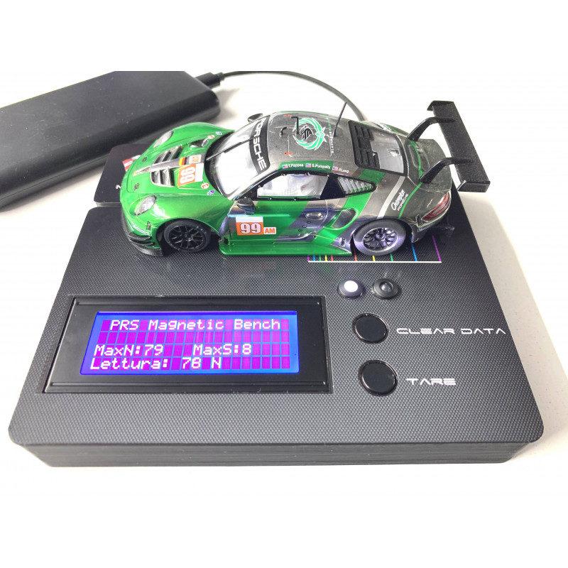 PRS Slot un banc pour mesurer l'effet magnétique des moteurs
