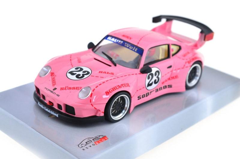 Porsche 911 GT2 Pink Pig #23 RS-110 Revoslot