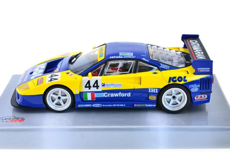 REVOSLOT-0106 Ferrari F40 IGOL #44 – 24H LeMans 1996