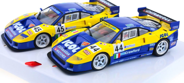 Revoslot: les photos des Ferrari F40 Igol Ennea Le Mans 1996