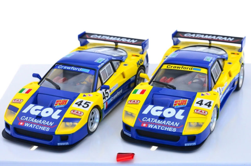 REVOSLOT-0108 Ferrari F40 IGOL #44&#45 – 24H LeMans 1996