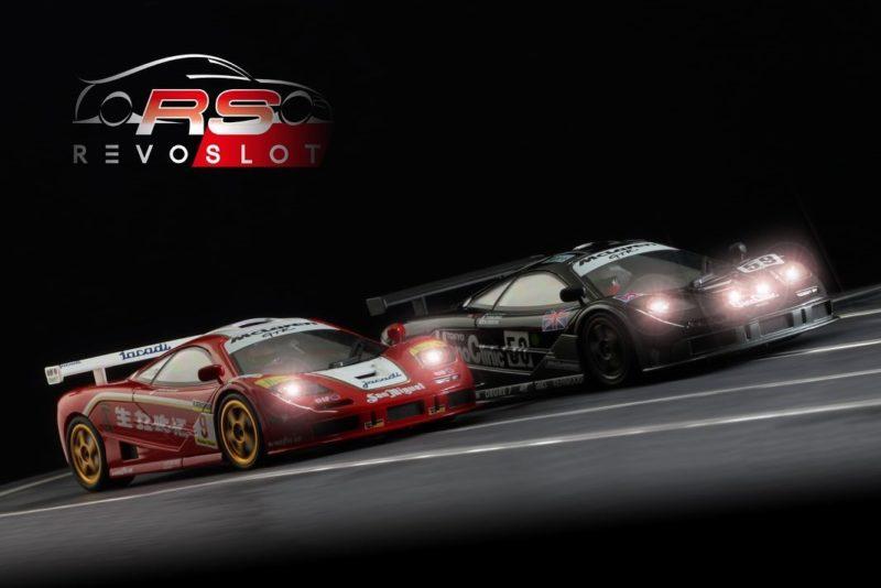 Revoslot La Mc Laren F1 GTR approche des pistes de slot