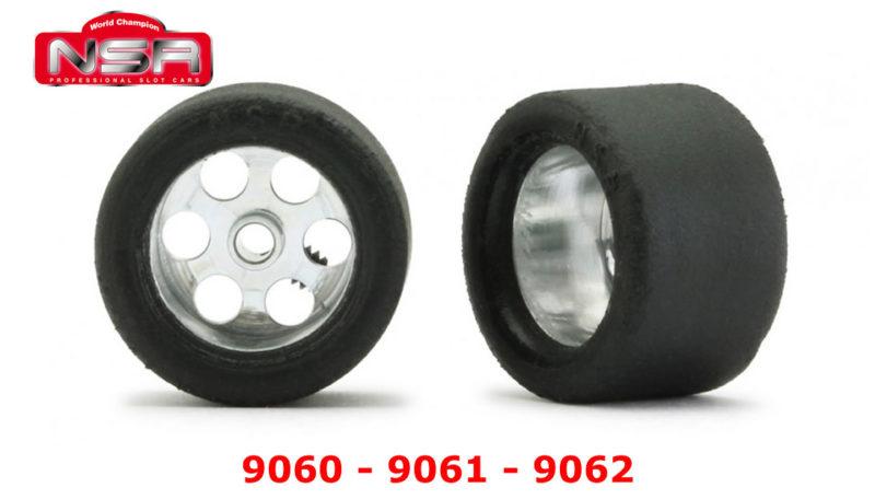 Roues complètes NSR - 9060 - 9061 - 9062
